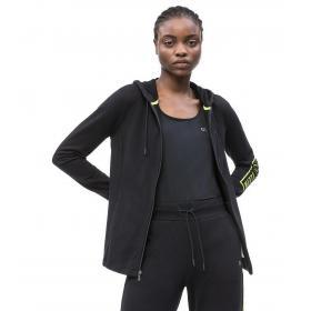 Felpa Calvin Klein Performance con cappuccio e zip da donna rif. 00GWS9J413