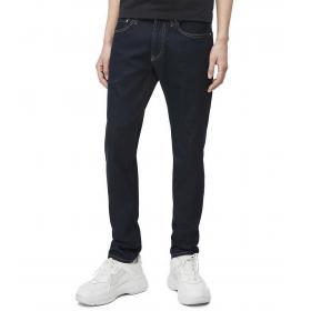 Jeans Calvin Klein CKJ 026 Slim Jeans denim blu scuro da uomo rif. J30J312022