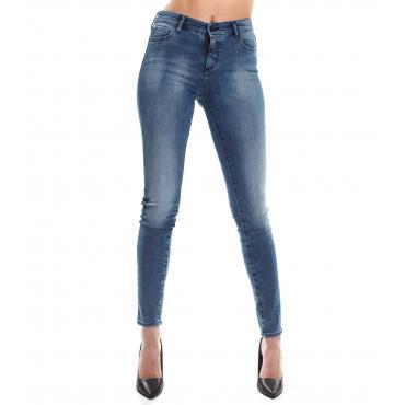 Jeans Armani Exchange slim fit in denim cinque tasche da donna rif. 3GYJ01 Y4FNZ