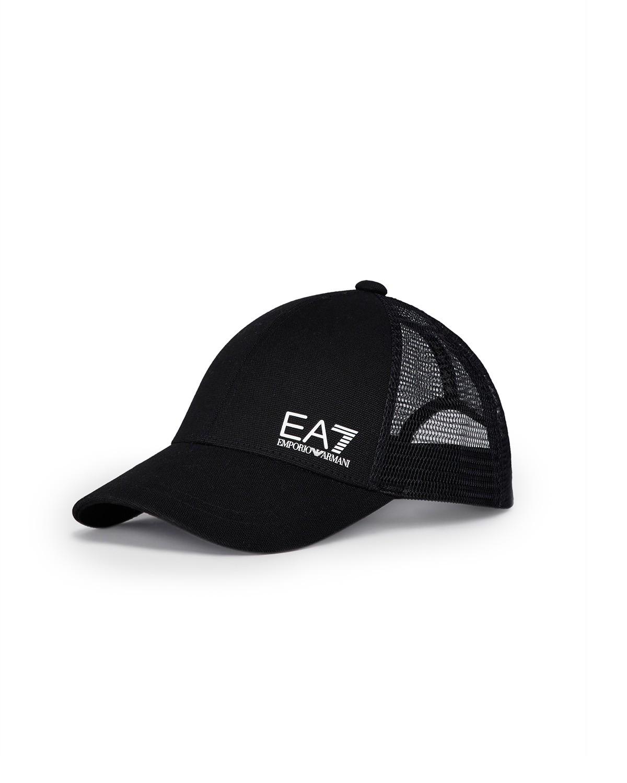be3270ba30 Cappello Emporio Armani EA7 con visiera e logo da uomo 275862 9P503