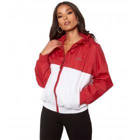 Giacca FILA Ray Wind Jacket bicolore con cappuccio da donna rif. 687148