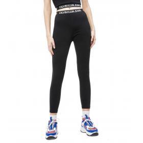 Leggings Calvin Klein Jeans Milano in jersey con logo ripetuto da donna rif. J20J213054BAE