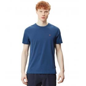 T-shirt NAPAPIJRI Selios con mini logo sul petto da uomo rif. N0YJAY