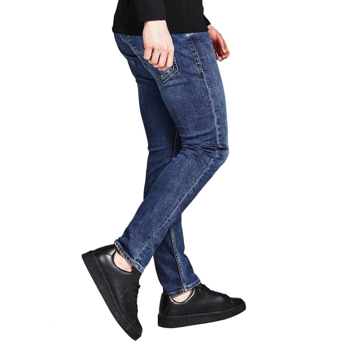Jeans GUESS classico slim cinque tasche da uomo rif. M91AN1D3HZ0