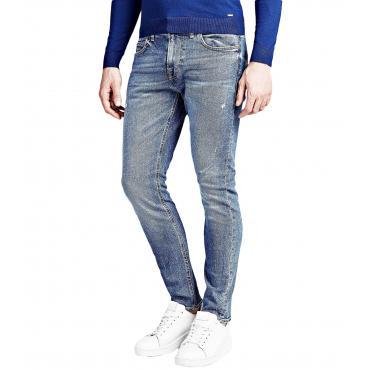 Jeans GUESS modello cinque tasche slim da uomo rif. M91A27D3HX0
