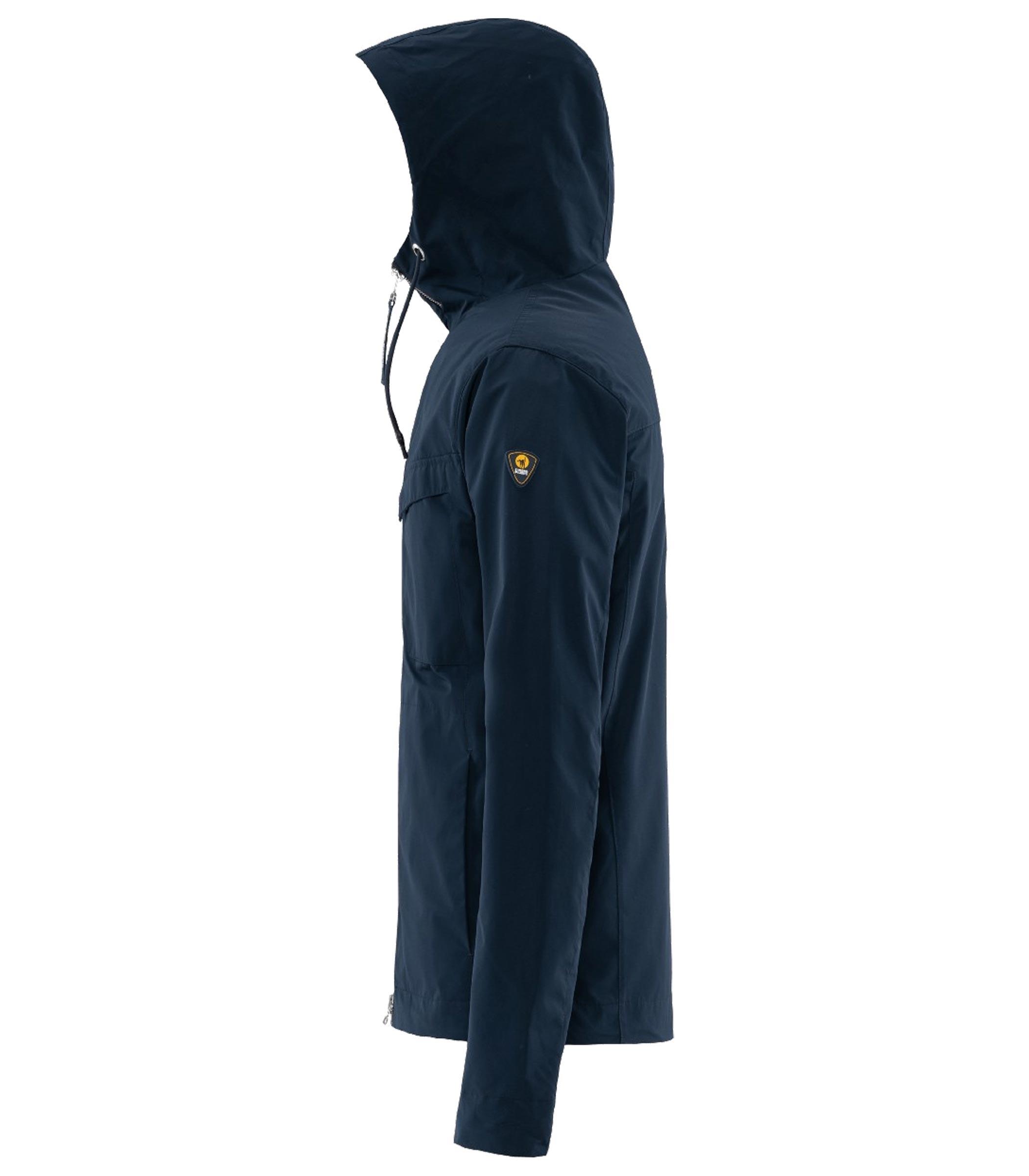 online store 94a08 a3174 Giacca giubbotto CIESSE PIUMINI con cappuccio blu da uomo ...