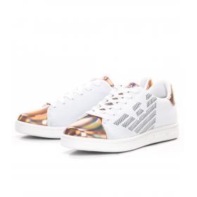 Scarpe Sneakers EA7 con logo laterale da donna rif. X8X001 XK076 D884