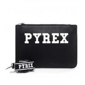 Borsa Pochette PYREX con stampa con logo da donna rif. PY19024