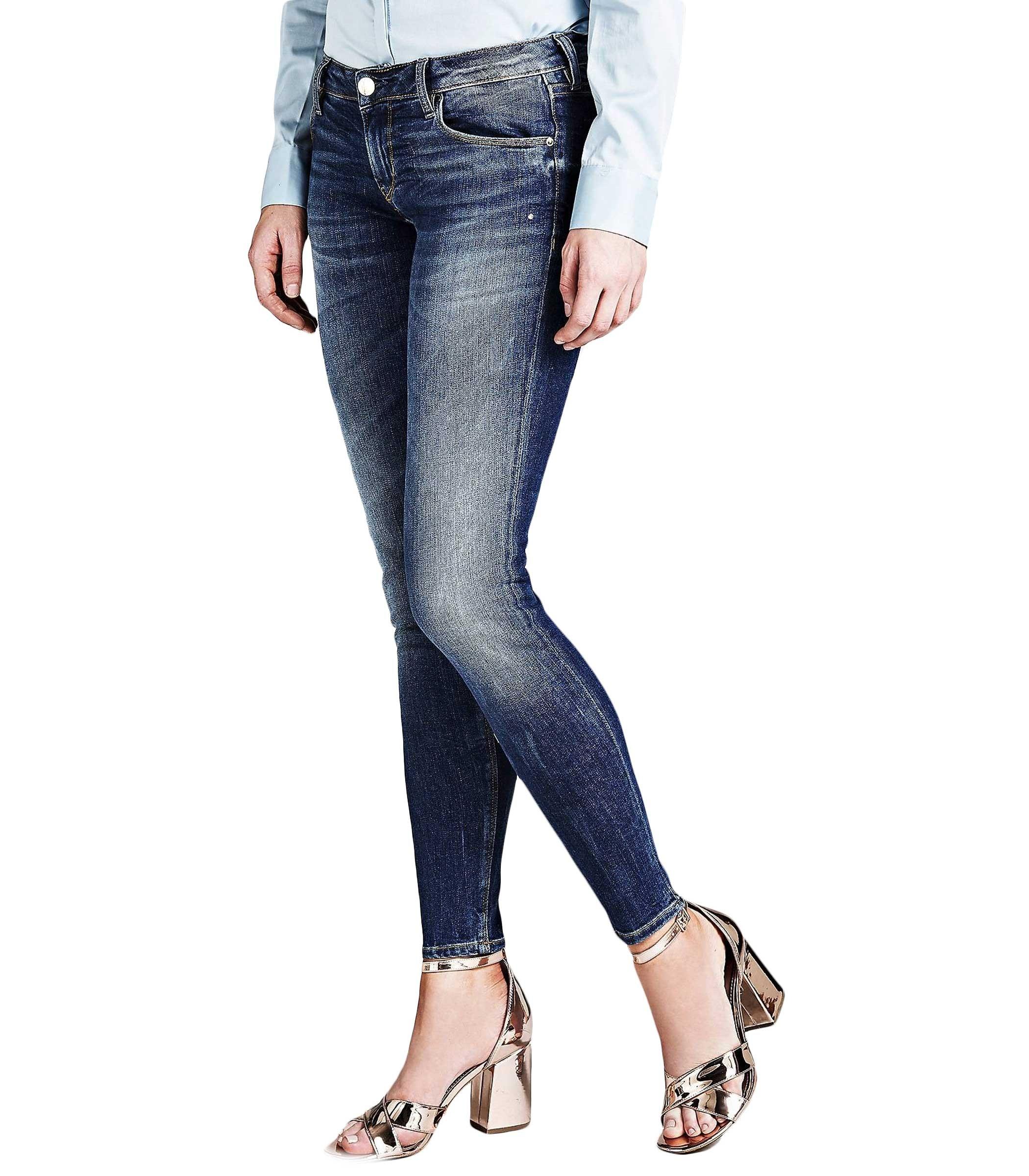 45adb17db00446 Jeans GUESS skinny modello cinque tasche da donna rif. W91043D2BD0