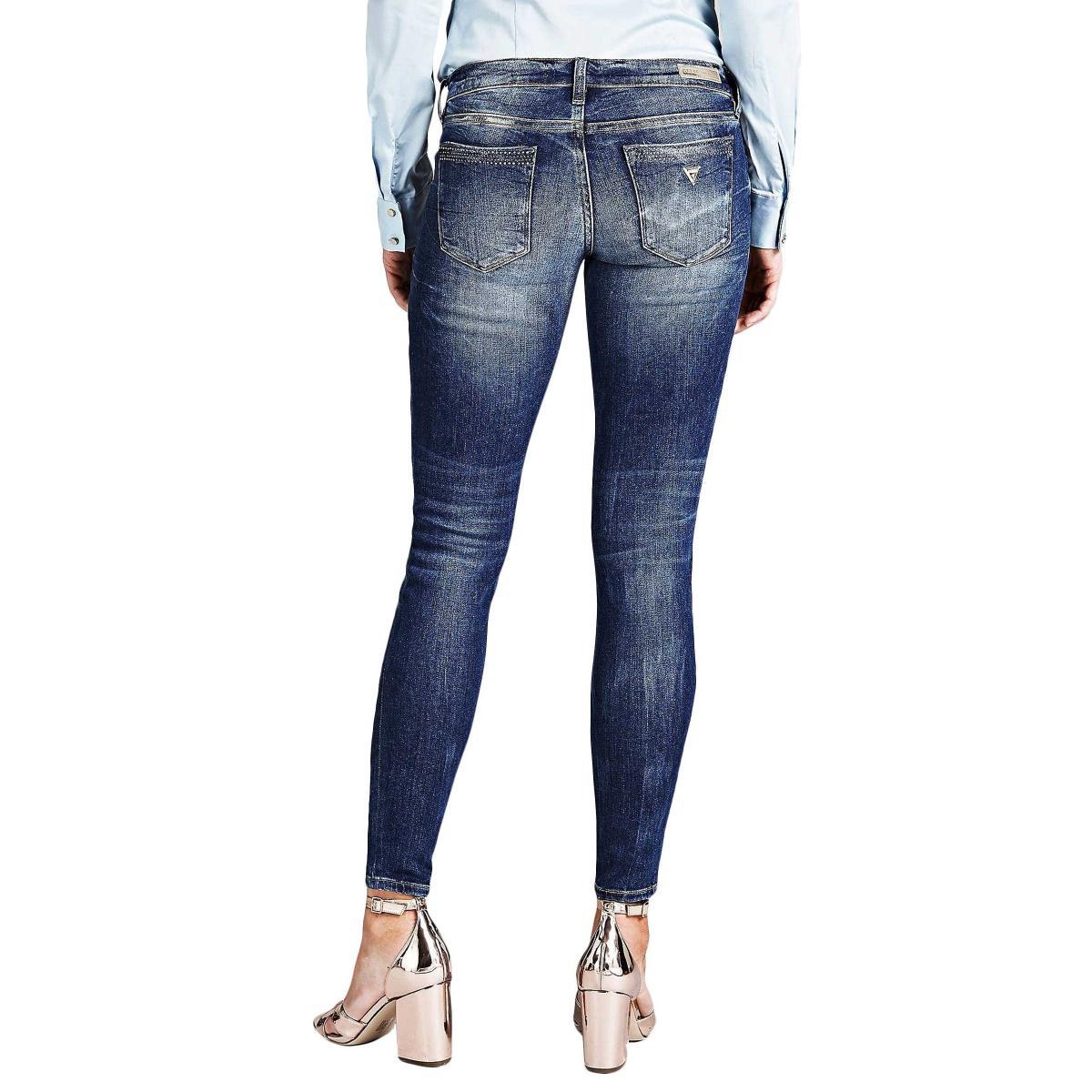 Jeans GUESS skinny modello cinque tasche da donna rif. W91043D2BD0