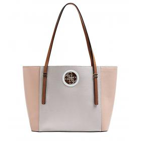 Borsa shopper GUESS Open Road effetto martellato da donna rif. VG718623
