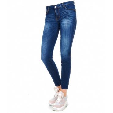 Jeans GUESS Curve X skinny denim blu da donna rif. W91AJ2D3HB0
