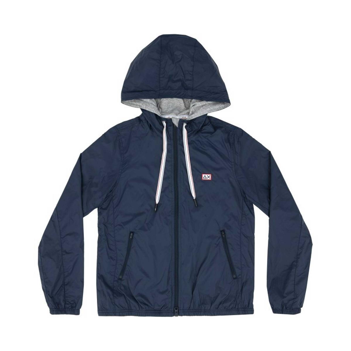 Giubbotto SUN68 Rain Jacket Heritage con cappuccio da donna rif. R19202