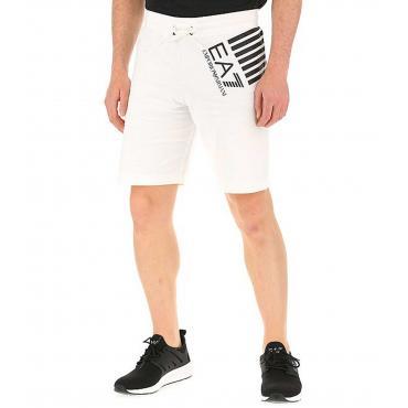 Pantaloncini Shorts Emporio Armani EA7 con stampa da uomo rif. 3GPS69 PJ05Z