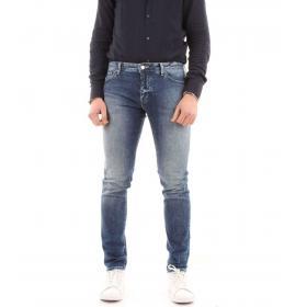 Jeans Armani Exchange skinny cinque tasche da uomo rif. 3GZJ14 Z1CJZ