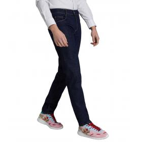 Jeans Trussardi 370 close basic in denim blu scuro da uomo rif. 52J00000 1T002352