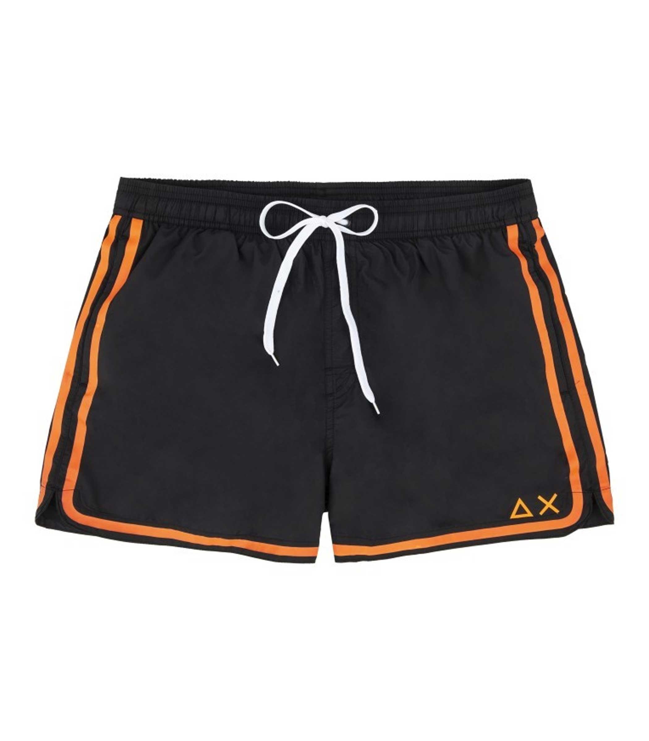 ec55f1f392 Shorts Costume da bagno SUN68 con bande laterali da uomo rif. H19103