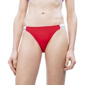 Costume slip bikini brasiliana Calvin Klein con logo da donna rif. KW0KW00667