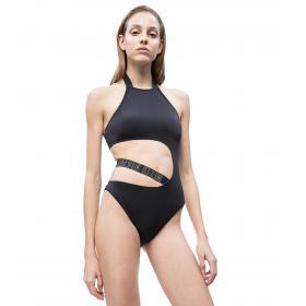 Costume da bagno intero Calvin Klein con inserti in rete da donna rif. KW0KW00679