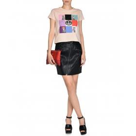 T.shirt Trussardi corta con stampa da donna rif. 56T00075 1T000797