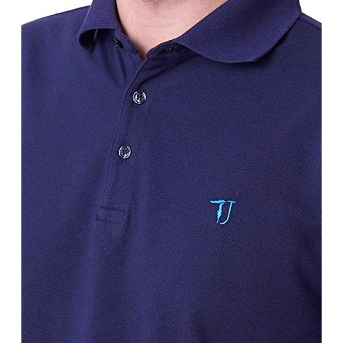 Polo Trussardi con logo sul petto da uomo rif. 52T00113 1T000784