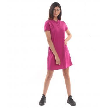 Vestitino Dress SUN68 El Satin Tape con micrologo da donna rif. A19210