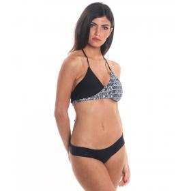 Costume Bikini 2 pezzi con slip a brasiliana Parental Advisory da donna rif. AD02D