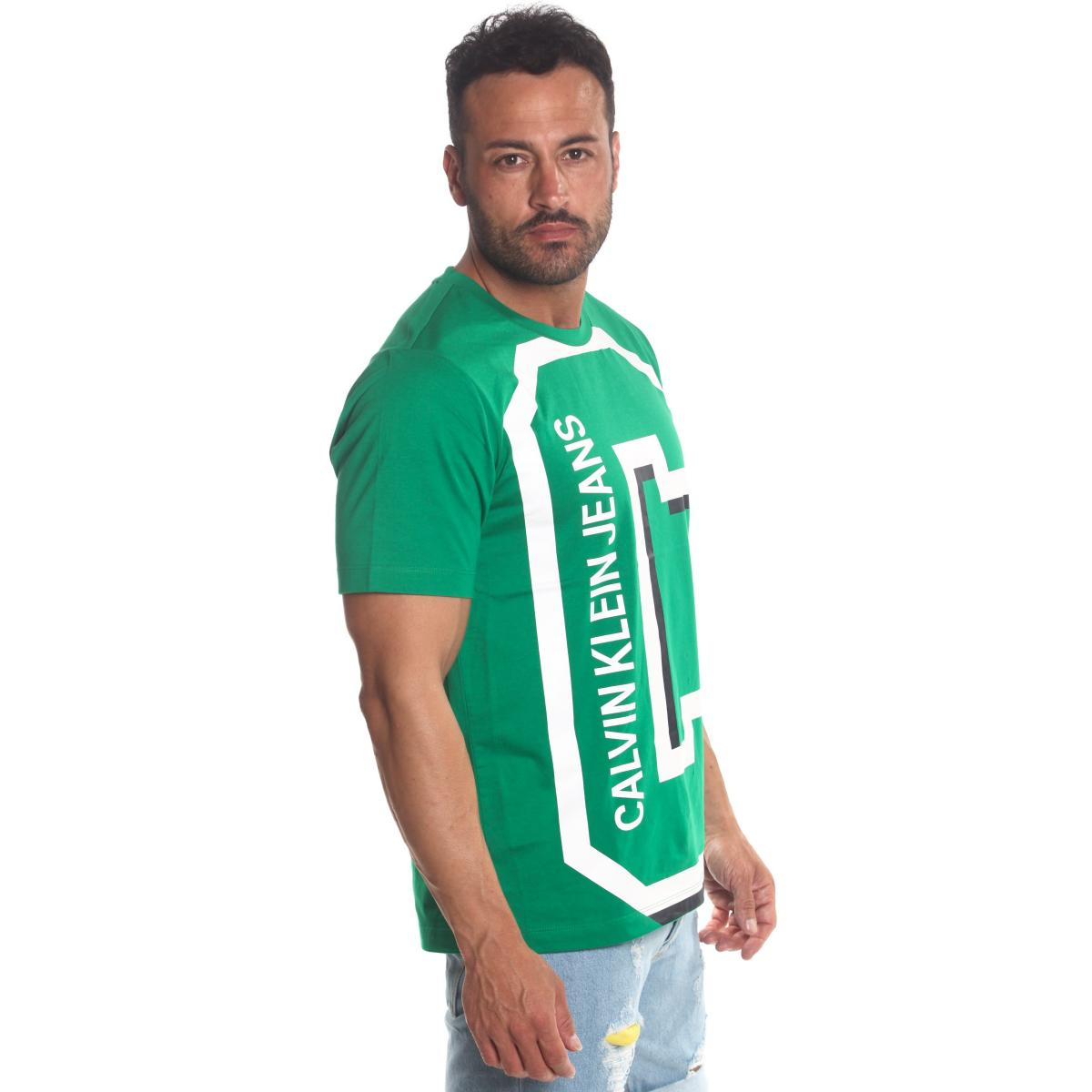 T-shirt Calvin Klein Jeans con stampa da uomo rif. J30J312118
