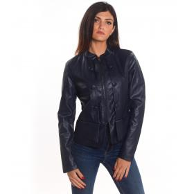 Giubbotto Giacca Yes Zee in eco pelle da donna rif. G002/G100