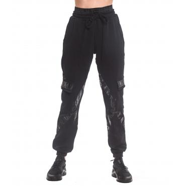 Pantaloni della tuta cargo H.U.N.T. con tasconi laterali ed elastico in vita da donna rif. HDC811
