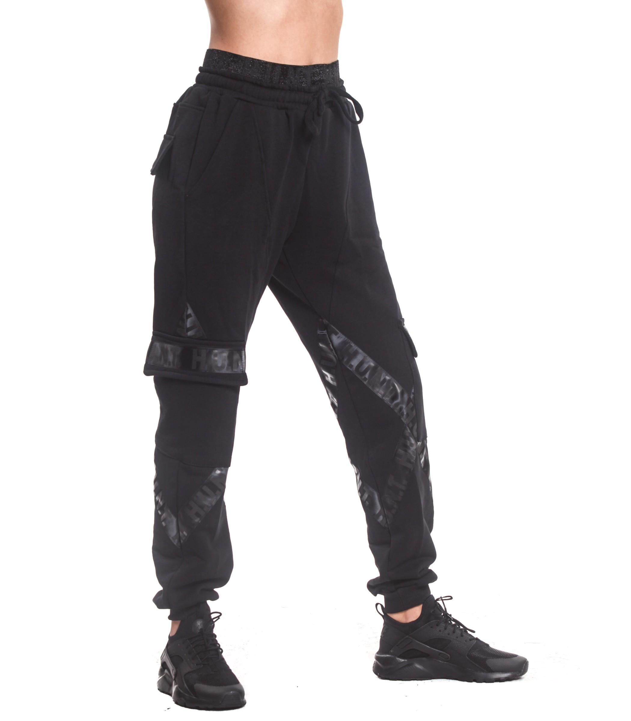 8e20d24378 Pantaloni della tuta cargo H.U.N.T. con tasconi laterali donna HDC811