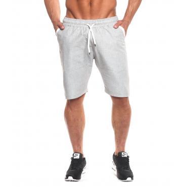 Bermuda shorts OVER-D in misto lino con laccio da uomo rif. BR300