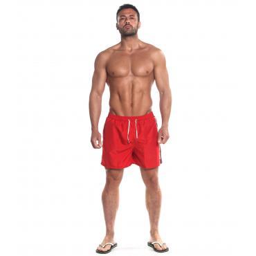 Costume da Uomo Boxer Parental Advisory con Finta Cerniera Multicolor rif.AD06U