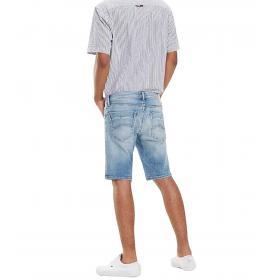 Shorts pantaloncini Tommy Jeans in denim da uomo rif. DM0DM06270