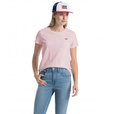 T-shirt Levi's Perfect Tee con mini logo da donna rif. 39185-0034