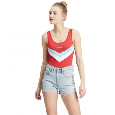 Body Levi's Florence Bodysuit con logo sul petto da donna rif. 80812-0001