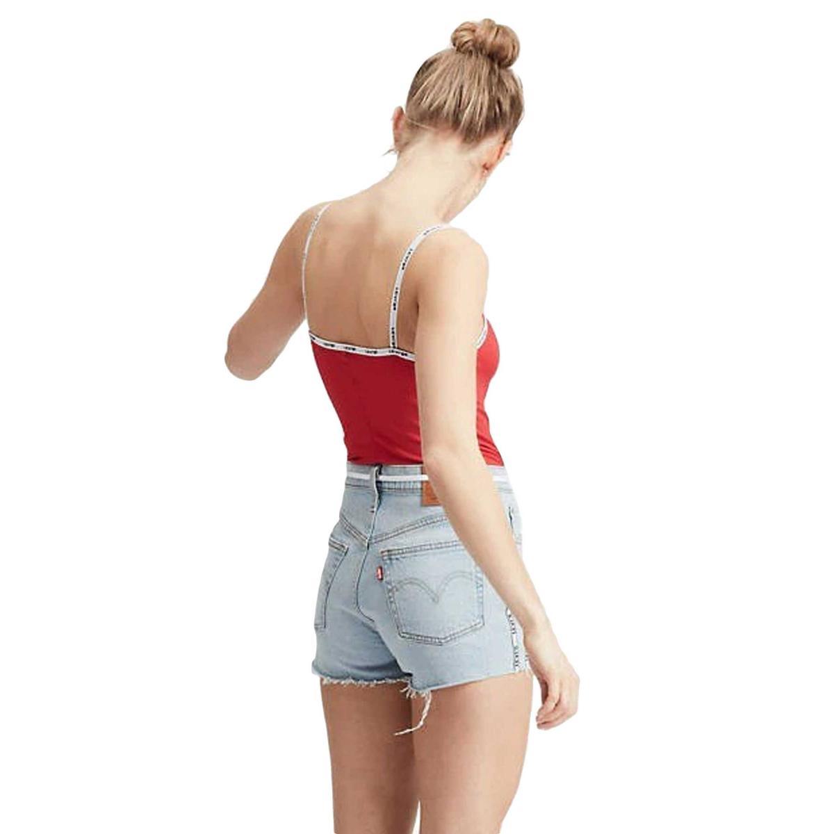 Body Levi's Paige Bodysuit con bordino con logo da donna rif. 77615-0000