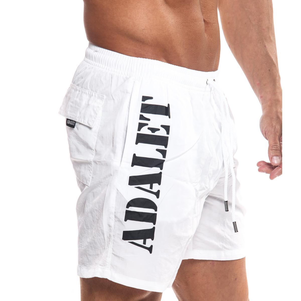 Boxer da mare ADALET shorts con stampa da uomo rif. AD19-001