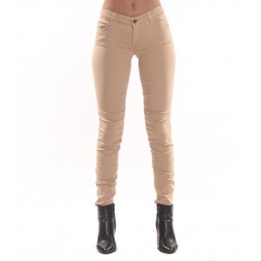 Pantaloni GUESS cinque tasche con logo da donna rif. W91A41W77R7