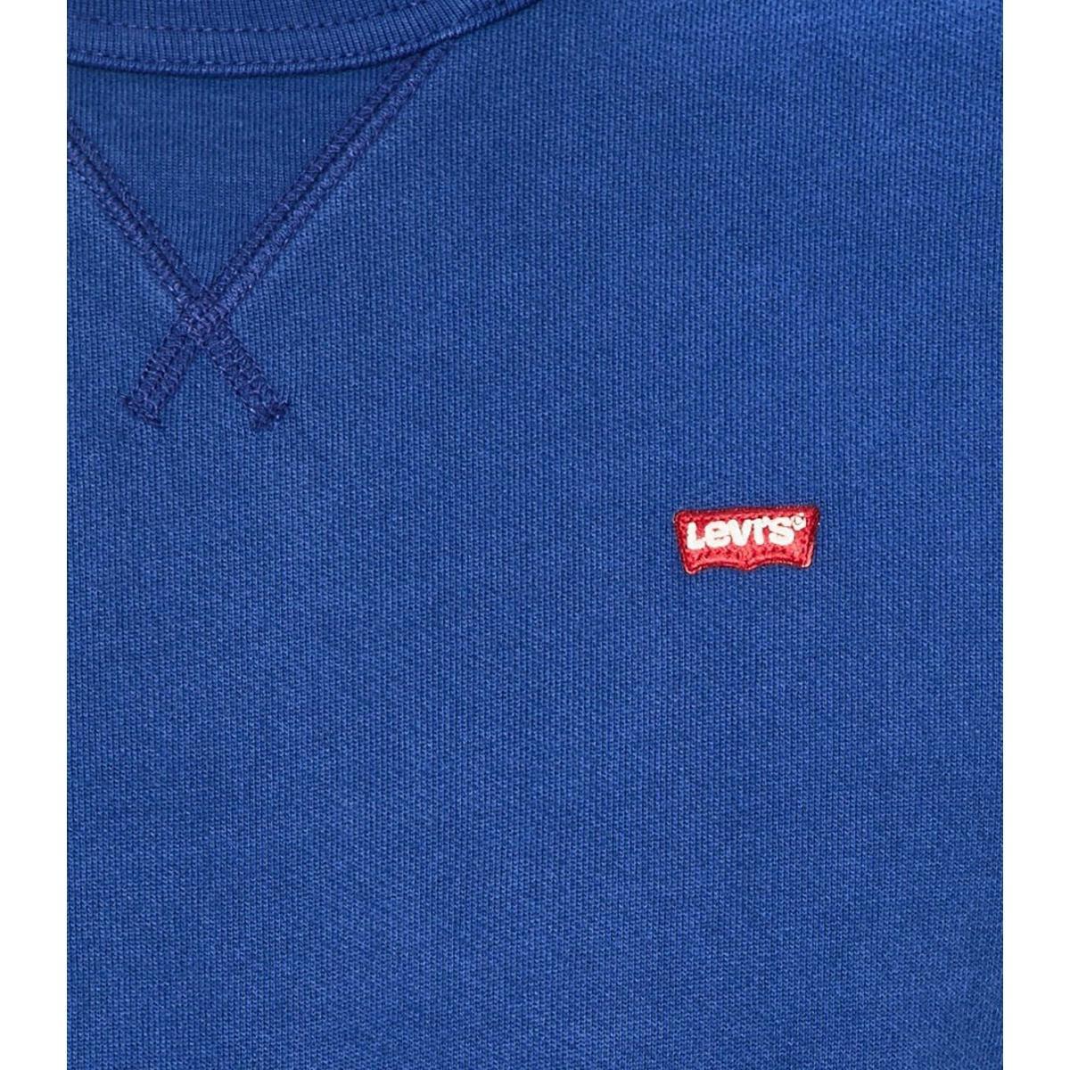 Felpa Levi's Chest Logo Crewneck Sweatshirt con logo da uomo rif. 56176-0013