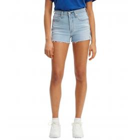 Shorts Levi's 501® High-Waisted Short denim jeans da donna rif. 56327-0042