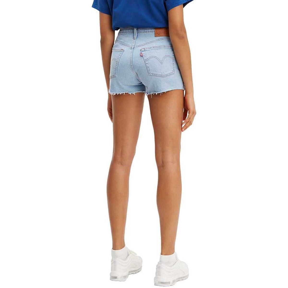 Shorts Levi's 501® High-Waisted Short denim jeans da donna rif. 56327-0042