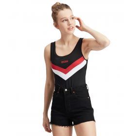 Body Levi's Florence Bodysuit con logo sul petto da donna rif. 80812-0000