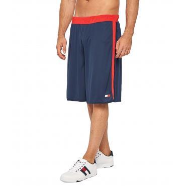 Shorts Pantaloncini Tommy Sport con inserti a rete da uomo rif. S20S200086