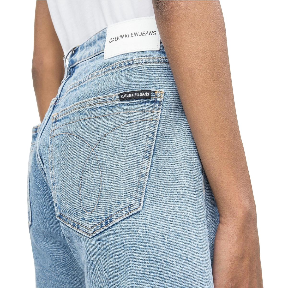 Pantaloncini shorts Calvin Klein Jeans in denim a vita media da donna rif. J20J212038