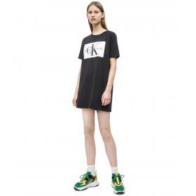 Vestitino Abito Calvin Klein Jeans t-shirt con logo da donna rif. J20J211236