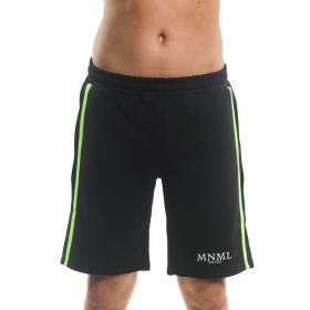 Bermuda shorts MINIMAL con stampa e bande laterali fluo da uomo rif. U2149