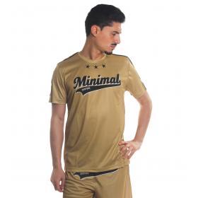 T-shirt MINIMAL in tessuto sintetico girocollo con stampa da uomo rif. U2156