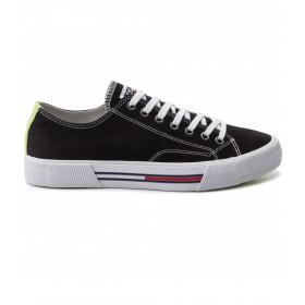 Scarpe Sneakers Tommy Jeans basse in tela da uomo rif. EM0EM00290