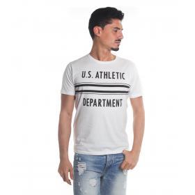 T-Shirt Tony Montoro girocollo in cotone con stampa da uomo rif. 1903